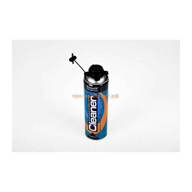 Очиститель монтажной пены Bartons CLEANER 400 мл