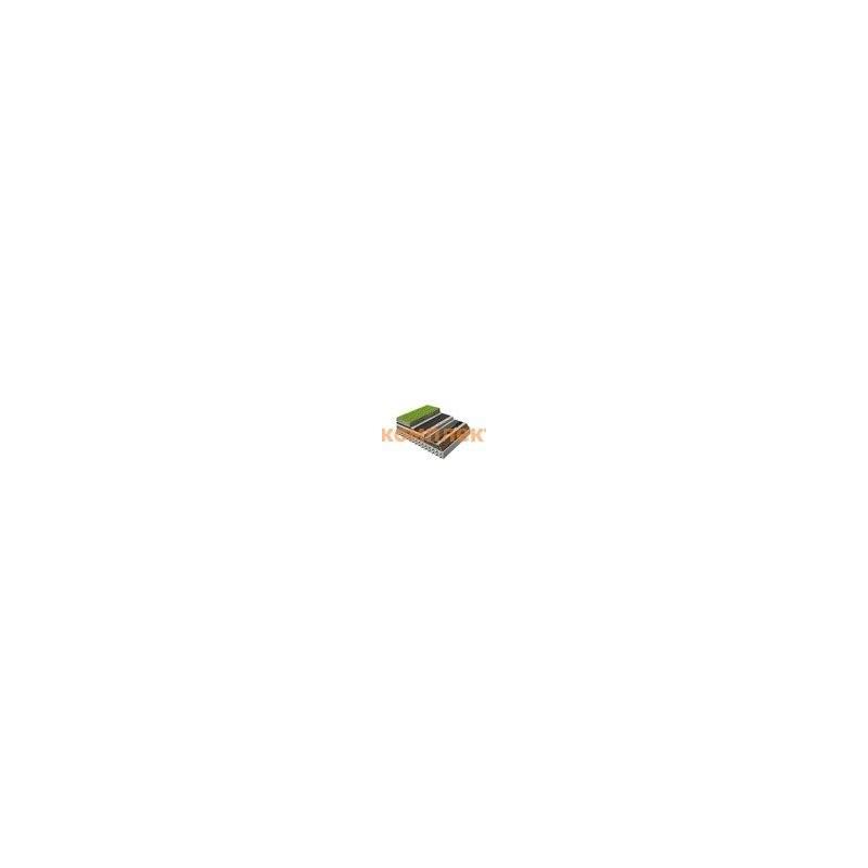 Экструдированный пенополистирол (XPS) Carbon Prof 400 1180х580х100 мм