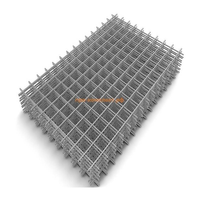 Сетка сварная оцинкованная ячейка 100*100 ∅3 (карта 3*2)