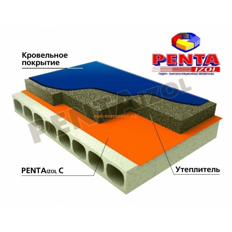 PENTAIZOL С -Гидро-пароизоляция 1,4 м (70м2)
