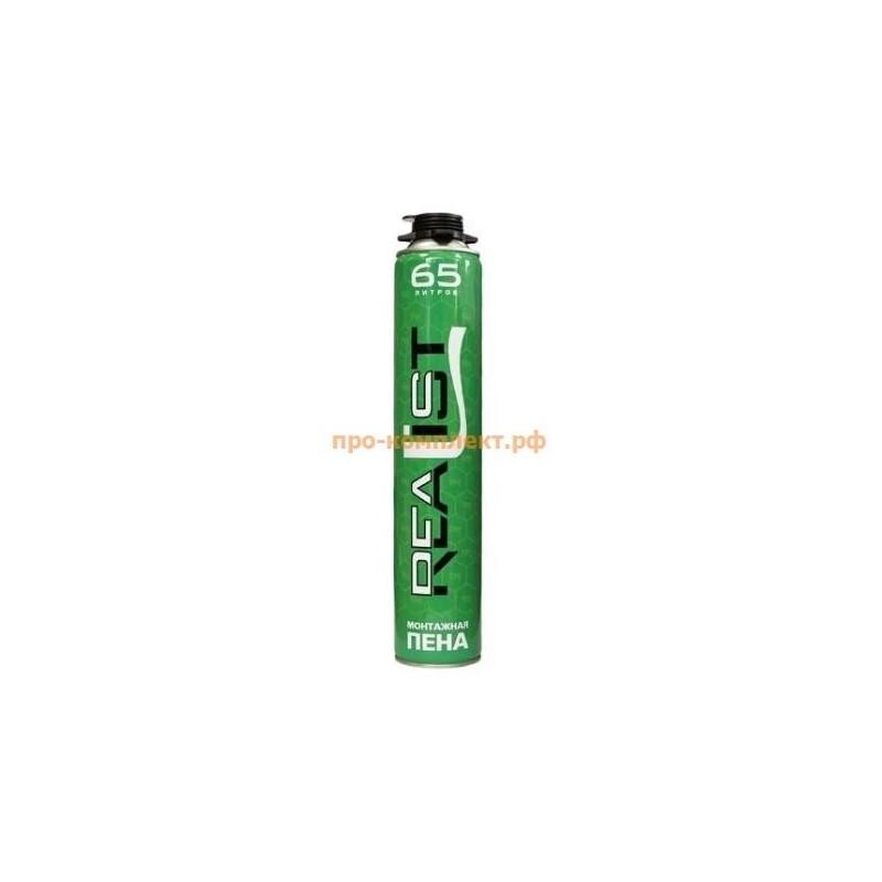Монтажная пена REALIST 65 - летняя green