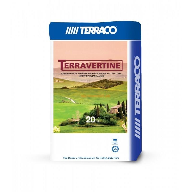 Терравертин интерьерное покрытие
