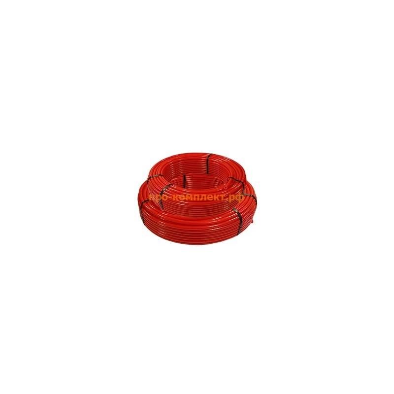 Труба PE-RT для теплого пола 16 мм (красная)