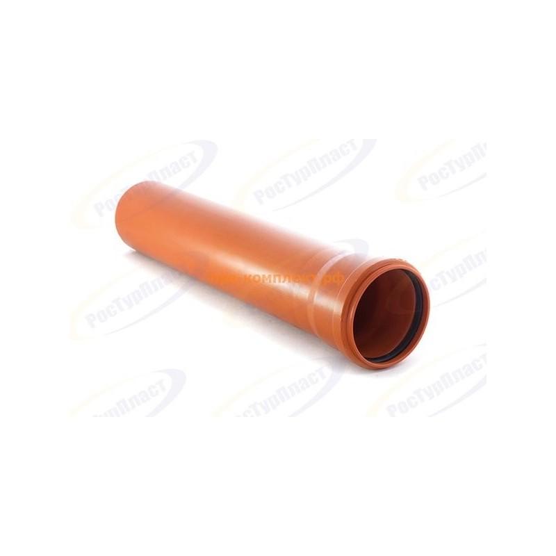 Труба наружная 110х3,4х6000 мм