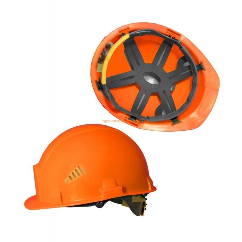 Каска с храповым механизмом оранжевая СОМЗ-55 Favori®T Trek® Rapid